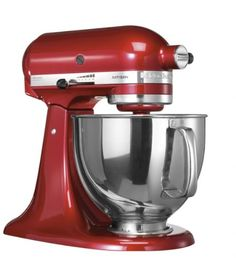 "KitchenAid 5KSM150PSECA4 Küchenmaschine mit kippbarem Motorkopf Serie ""Artisan"", Liebesapfel rot"