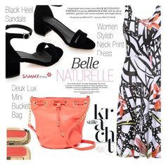 Summer  Style by vanjazivadinovic on Polyvore featuring polyvore fashion style Deux Lux Dolce&Gabbana Whiteley clothing sammydress polyvoreeditorial Poyvore