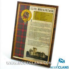 MacIntosh Clan Histo