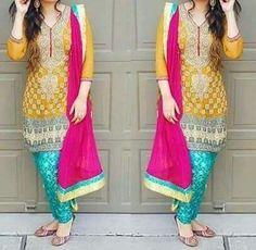 Loving the colors Sana💫 Pakistani Wedding Outfits, Pakistani Dresses, Indian Dresses, Indian Outfits, Pakistani Clothing, Shadi Dresses, Casual Asian Fashion, Indian Fashion, Bridesmaid Shirts