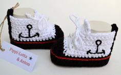 ★  ANKERS © ★  NEU!!  Baby-Chucks von ★  Pippi-Lotta & Anton ★  auf DaWanda.com