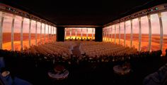 '360°' Projection at Corporate event - by Showtex NV