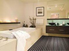 """Résultat de recherche d'images pour """"aménager une petite salle de bain beige"""""""