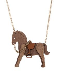 @Tamsyn Allison Devine Horse Necklace