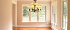 A great way to update your home without a major overhaul is to have baseboards and any crown moldings replaced. Replacements can be purchased at home improvement stores already painted or stained and then cut to size. Interior Window Trim, Interior And Exterior, Interior Design, Cheap Renovations, Home Remodeling, Baseboard Styles, Simple Interior, Home Additions, Home Accents