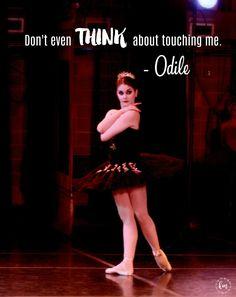 "Kathryn Morgan as Odile in ""Swan Lake"""