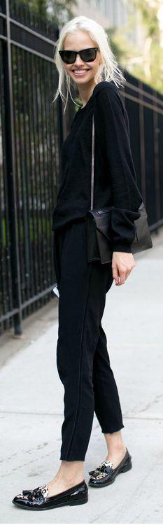 Sasha Luss Street Style, so simple and so gorgeous
