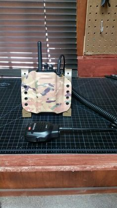 Kydex radio carrier by rocky top concealment systems