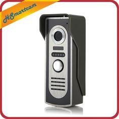 Para 2v1 7 ''TFT LCD Con Conexión de Cable Video de La Puerta Teléfono Sistema de Intercomunicación Visual Timbre de la Puerta 800x480 Monitor de Interior 700TVL al aire libre Cámara de Infrarrojos