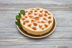 Sernik z musem brzoskwiniowym #smacznastrona #przepisytesco #sernik #cake #deser #brzoskwinie #pycha #sweet