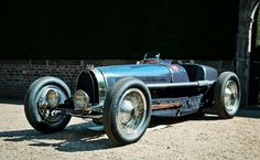 Bugatti Type 59: This was Bugatti's last real attempt at a Grand Prix car, and though incredibly beautiful, it was hopelessly outdated.