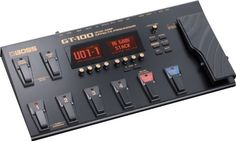Boss GT-100 Guitar Multi-Effects Pedal w/ DLX Pedal Bag and 2 Guitar Cables  http://www.instrumentssale.com/boss-gt-100-guitar-multi-effects-pedal-w-dlx-pedal-bag-and-2-guitar-cables/
