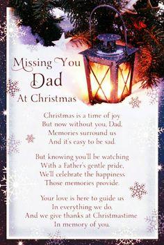 Daveswordsofwisdom.com: Missing Dad At Christmas.