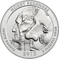 Mt Rushmore coin