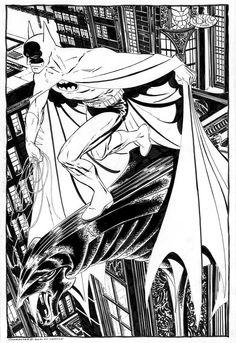 Batman commission by John Byrne. 2012.