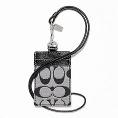 coach card holder lanyard, would be perfect for drinking adventures!