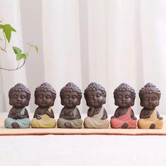Tiny Buddha Zen Monks