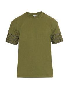 Kenzo Logo-printed cotton-jersey T-shirt