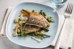 Branzino alle verdure #Star #ricette #branzino #verdure #pesce #food #recipes