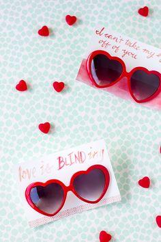 Free Printable Heart Sunglasses Valentines