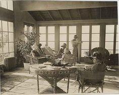 Ladies' Sun Parlor, Palos Verdes Golf Club.