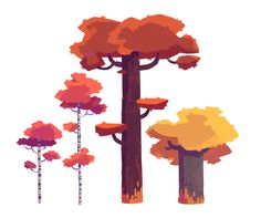 Trees by NathanDupouy.deviantart.com on @deviantART