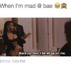 When I'm mad at bae. ~ pinterest: @xpiink ♚
