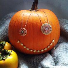 NANIS ITALIAN JEWELS - Notredame Collection #pumpkin - #18carats #gold #jewels #natural #semiprecious #stones