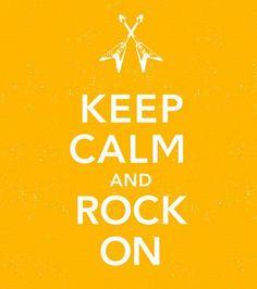 I DO encourage Rocking On. I do NOT encourage this poster.