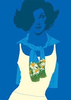 Ian Bilbey | Illustrator | Central Illustration Agency #ian #bilbey #illustration #graphic #vector #digital #beauty #feminine