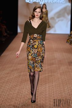 Lena Hoschek Fall-winter 2014-2015 - Ready-to-Wear - http://www.flip-zone.net/fashion/ready-to-wear/independant-designers/lena-hoschek-4434