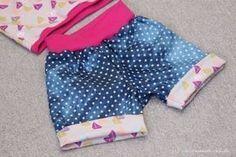 kostenloses Tutorial für eine Shorts aus dem Freebook Jogging Rockers - kurze Hose für Kinder nähen