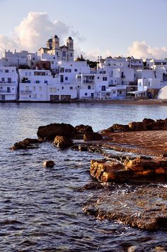 Naoussa, Paros island, Greece. - Selected by www.oiamansion.com