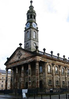 St. Andrews in the Square Glasgow, Scotland 1739-1756