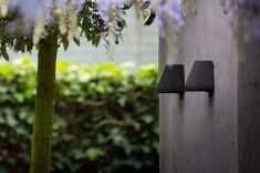 Photograph via Royal Botania. See more at Hardscaping Outdoor Wall Lights. Outdoor Wall Lights, Hardscape, Luxury Lighting, Wall Lights, Royal Botania, Outdoor Walls, Lights, Landscape Lighting, Outdoor Lighting