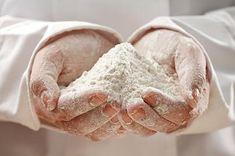 Gluten-Free Bread Flour ~ 1 1/3 C buckwheat flour, 1/2 C white rice flour, 3/4 C tapioca flour, 2 1/4 t xanthan gum, 1 1/4 t salt.
