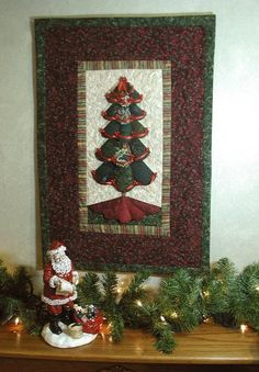 Christmas is coming, this is a great Quilt for the season
