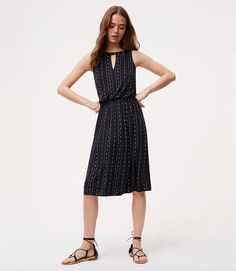 $69.50 This flowy dress has effortless style all lined up