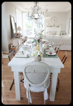 Love the room/space...table and chairs...everything!