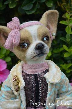 Chihuahua Molly By Pogorelaya Daria - Bear Pile