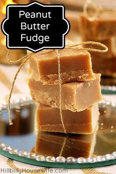 Easy Peanut Er Fudge