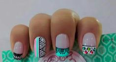 Adorable Autumn Nail Art Designs Ideas That Looks Cool 66 Nail Designs 2017, Elegant Nail Designs, Nail Art Designs, Hot Nails, Hair And Nails, Broken Nails, Nail Patterns, Autumn Nails, French Tip Nails