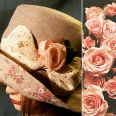 Vintage hat with roses made by http://www.facebook.com/paolaceriotti.lafatadeicappelli ********* ****** Le Maddine & Maddy ****** ***** https://www.facebook.com/groups/531953423561246/ ***** #madeinfacebook #lemaddine #handmade #handcrafted #instagram #instapic #instagood #picoftheday #instacool #handmade #cool #cute #spring #flowers #rose #pink #natural #hat #woman #romantic #vintage #lace #lafatadeicappelli