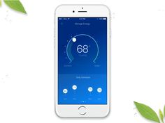 Recently our creative team has been exploring ways to incorporate micro interactions within this smart thermostat product. These interactions are vitally important to communicating feedback to a us...