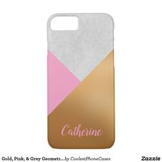 Purchase a new Gold case for your iPhone! Shop through thousands of designs for the iPhone iPhone 11 Pro, iPhone 11 Pro Max and all the previous models! Iphone Case Covers, Pink Grey, Gold