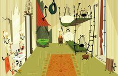 Sue Mondt Portfolio : Foster's Home for Imaginary Friends, in Illustrator