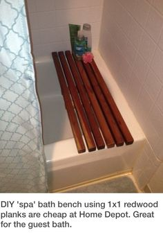 Guest Bath DIY Idea