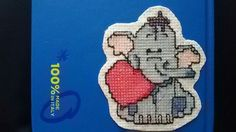 Punto croce  Elefantino winnie pooh