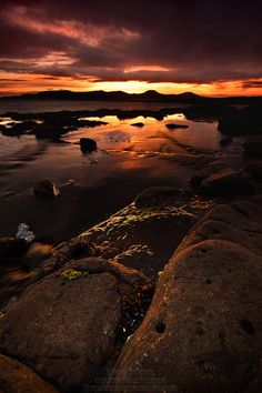 The sunset on Friday the 13th of September 2013 in Eabost, Struan, Isle of Skye, Scotland. Friday the 13th... by Alexander Macaskill on 500px