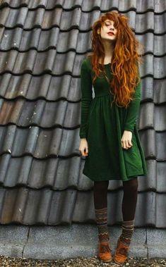 Cómo combinar un vestido verde de fiesta: Todos los outfits - Vestido terciopelo verde
